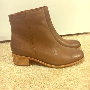 Cork Ease ankle booties